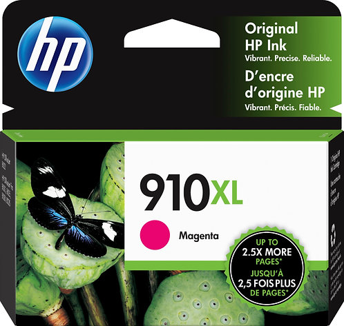 HP 910XL High Yield Magenta Ink Cartridge