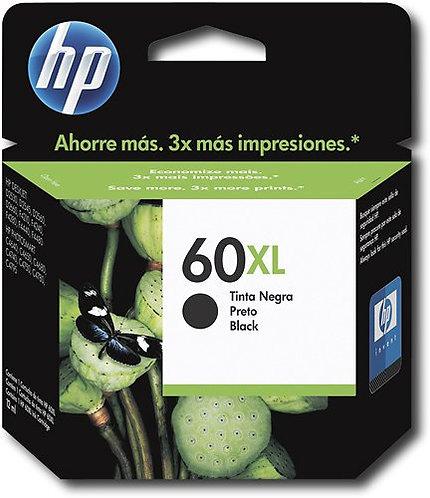 HP 60XL High Yield Black Ink Cartridge