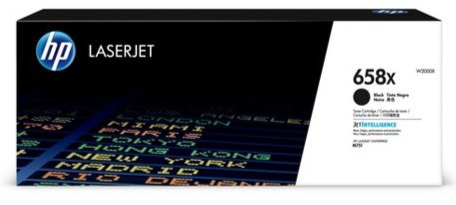 HP 658X High Yield Black Toner Cartridge (W2000X)