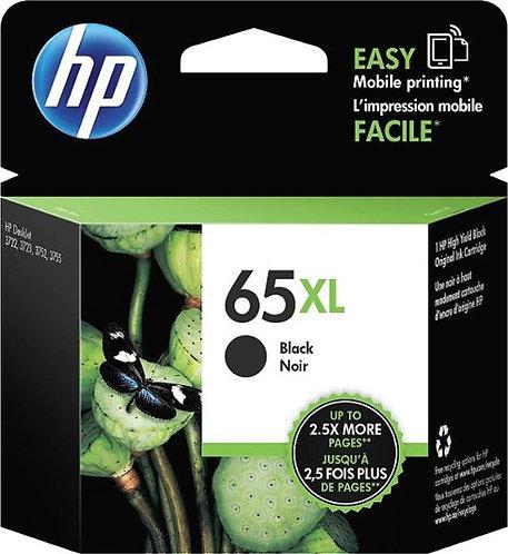 HP 65XL High Yield Black Ink Cartridge