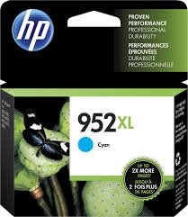 HP 952XL High Yield Cyan Ink Cartridge