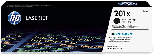 HP 201X High Yield Black Toner Cartridge (CF400X)