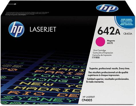 HP 642A Magenta Toner Cartridge (CB403A)