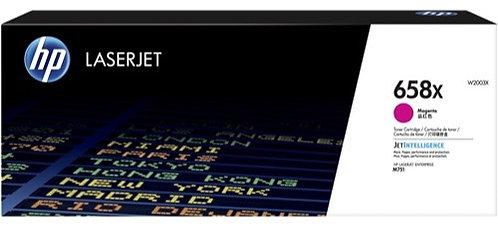 HP 658X High Yield Magenta Toner Cartridge (W2003X)