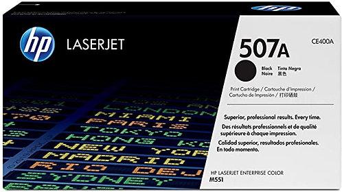 HP 507A Black Toner Cartridge (CE400A)