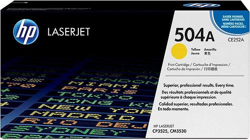 HP 504A Yellow Toner Cartridge (CE252A)