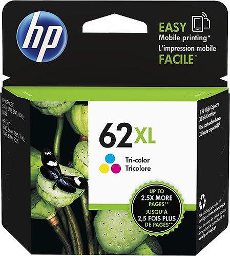HP 62XL High Yield Tri-color Ink Cartridge