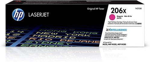 HP 206X High Yield Magenta Toner Cartridge (W2113X)