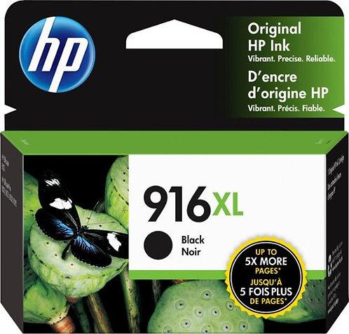 HP 916XL High Yield Black Ink Cartridge