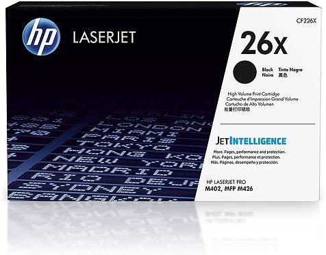HP 26X 2-Pack High Yield Black Toner Cartridge (CF226XD)