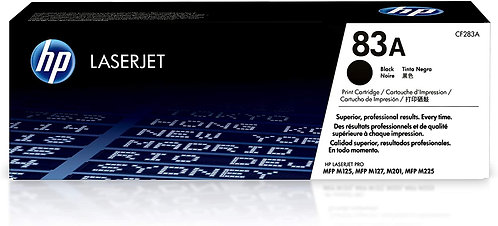 HP 83A Black Toner Cartridge (CF283A)