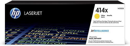 HP 414X High Yield Yellow Toner Cartridge (W2022X)