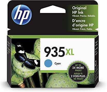 HP 935XL High Yield Cyan Ink Cartridge
