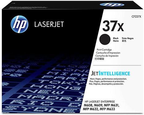 HP 37X High Yield Black Toner Cartridge (CF237X)