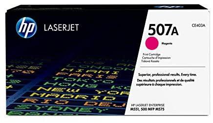 HP 507A Magenta Toner Cartridge (CE403A)