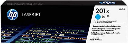 HP 201X High Yield Cyan Toner Cartridge (CF401X)