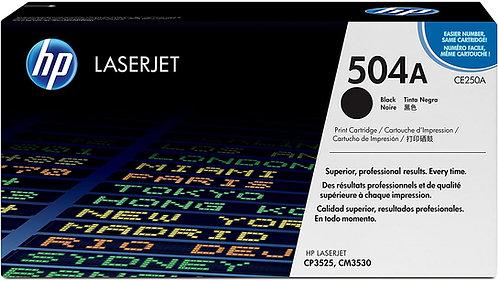 HP 504A Black Toner Cartridge (CE250A)