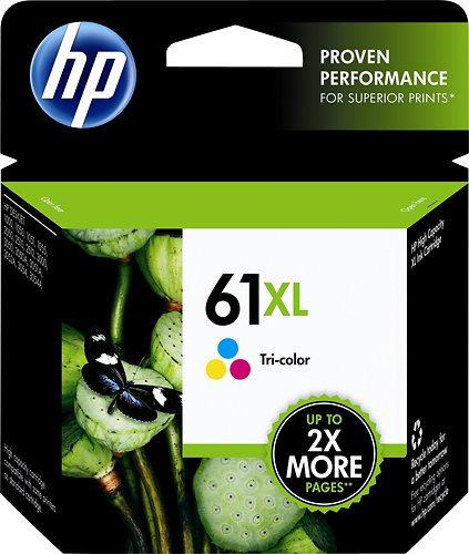 HP 61XL High Yield Tri-color Ink Cartridge