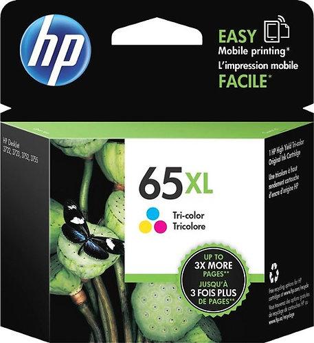 HP 65XL High Yield Tri-color Ink Cartridge