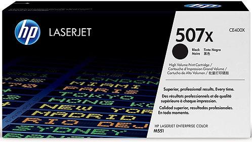 HP 507X High Yield Black Toner Cartridge (CE400X)
