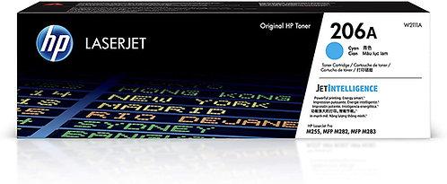 HP 206A Cyan Toner Cartridge (W2111A)
