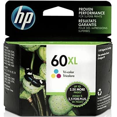 HP 60XL High Yield Tri-color Ink Cartridge