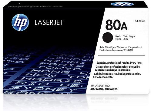 HP 80A Black Toner Cartridge (CF280A)