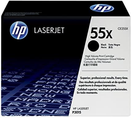 HP 55X 2-Pack High Yield Black Toner Cartridge (CE255XD)