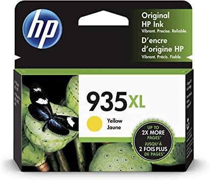 HP 935XL High Yield Yellow Ink Cartridge
