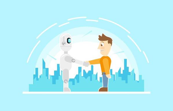 ai-robot-future-friendly-technology-flat