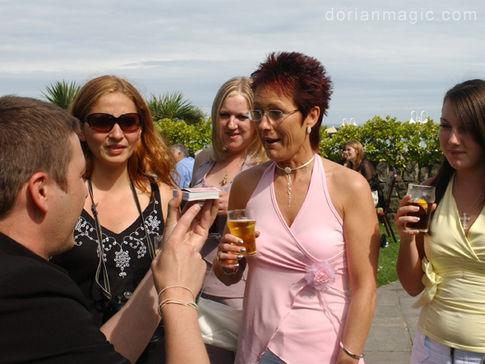 Wedding Magician Oxwich Bay Hotel. Swansea Gower.
