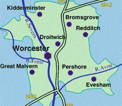 Worcestershire Magician. Worcester, Bewdley, Broadway, Bromsgrove, Droitwich Spa, Evesham, Blossom Trail Evesham, Kidderminster, Malvern, Pershore, Redditch, Stourport-on-Severn, Tenbury Wells, Great Malvern, Upton-upon-Severn.