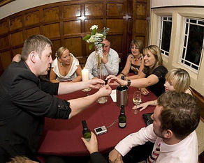 After dinner magic show