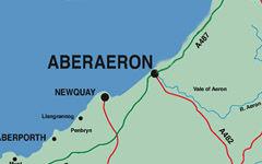 Aberaeron Map