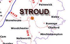 Stroud map