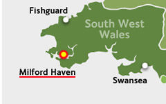 Milford Haven map