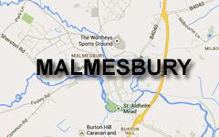 Malmesbury map