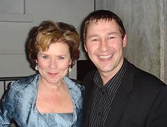 Dorian with Imelda Staunton