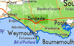 DORCHESTER map