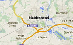 Maidenhead map