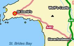 St David's map