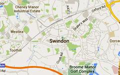 Swindon map