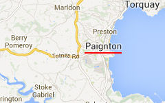 Paignton map