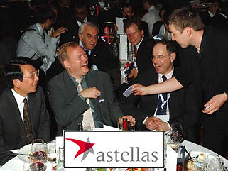 DORIAN entertaining at an event for Astellas Pharma