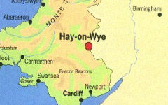 Hay-on-Wye map