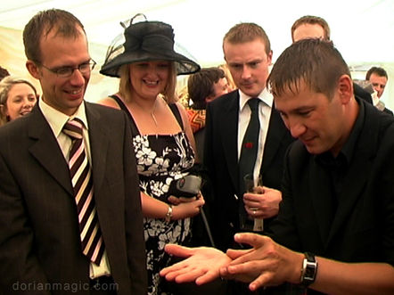 Wedding Magician Builth Wells