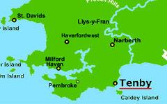 Tenby map