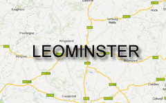 Leominster map