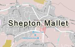 Shepton Mallet map