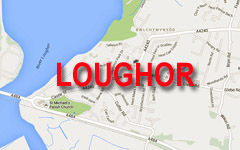 Loughor map